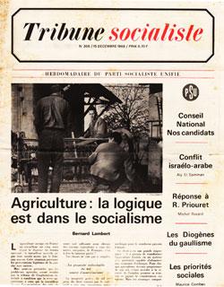 Tribune Socialiste N°306, 15 Décembre 1966