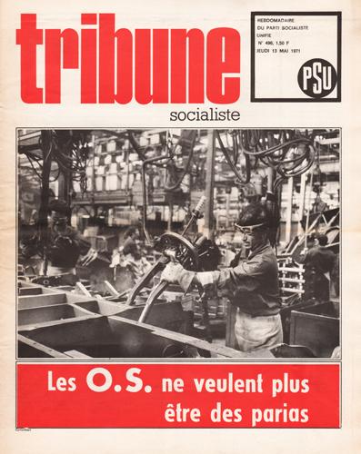 Tribune Socialiste N°496, 13 Mai 1971