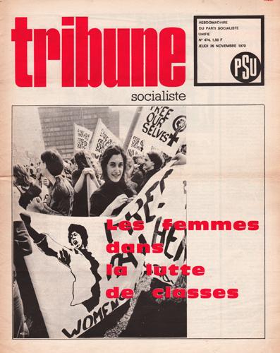 Tribune Socialiste N°474, 26 Novembre 1971