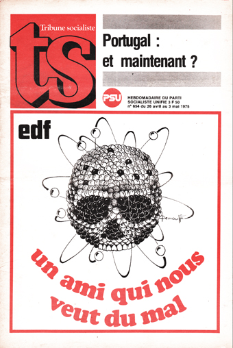 Couverture TS N°654, 26 Avril 1975