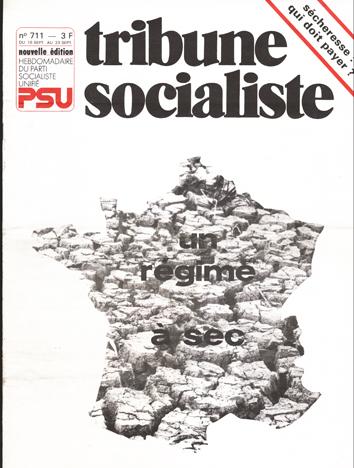 Couverture TS N°711, 16-23 septembre 1976