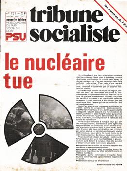 Couverture TS N°751, Août 1977