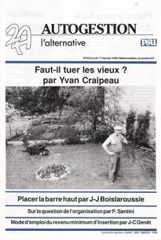 Couverture 2A, 17 Janvier 1989