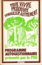 Programme autogestionnaire PSU, 1978