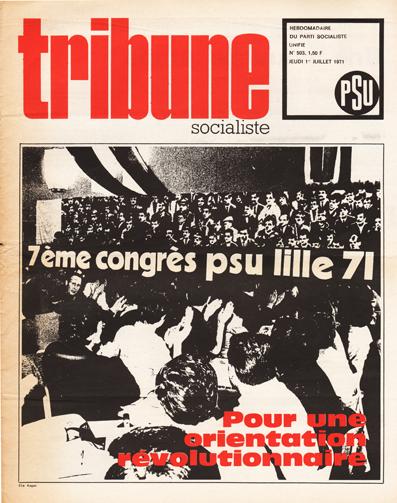Tribune Socialiste N°503, 1er Juillet 1971
