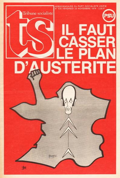 Tribune Socialiste N°636, Décembre 1974